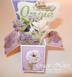 garden box card, by Grace Baxter. Gracenotes4today.blogspot.com