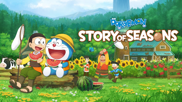 THE HARVEST BEGINS AS DORAEMON  STORY OF SEASONS ARRIVES ON THE PLAYSTATION 4