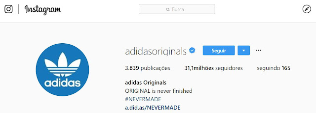 Instagram Stories: Filtro da Adidas