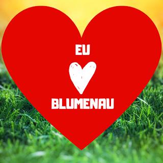 Eu amo Blumenau