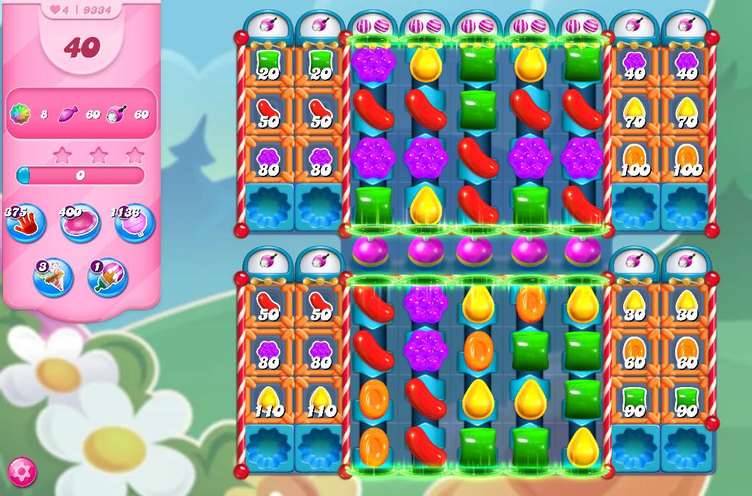 Candy Crush Saga level 9334