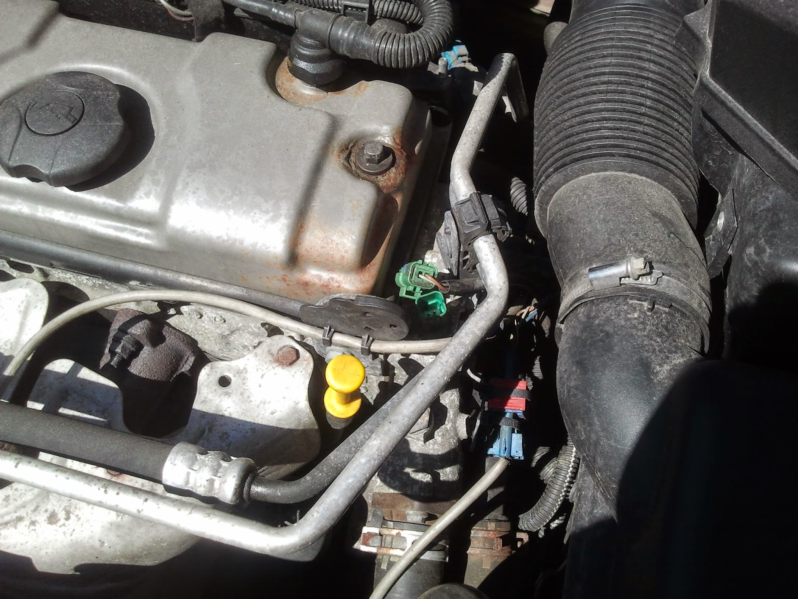 Communicating with my Car : Peugeot 206 cooling fan not