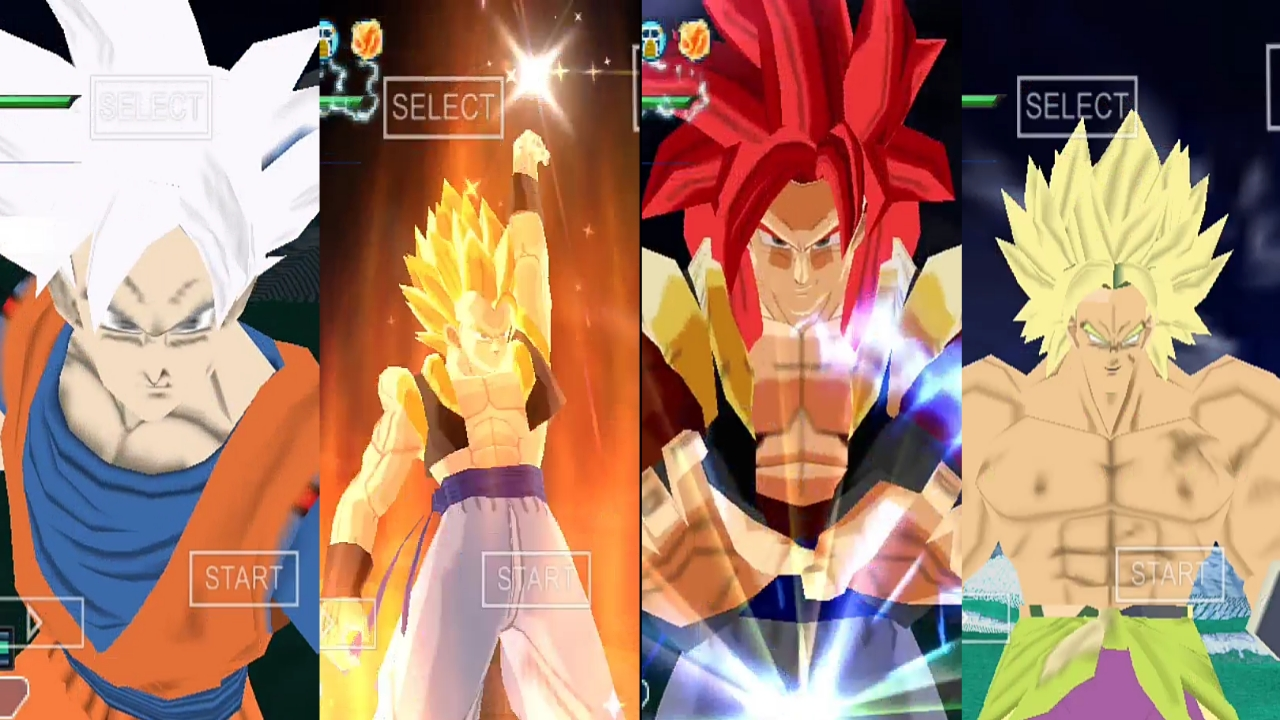 Dragon Ball Super Movie Broly DBZ TTT MOD