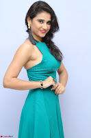 Priya Singh in a sleeveless Green Gown at Manasainodu music launch 011.08.2017 ~ Exclusive Celebrity Galleries 045.JPG