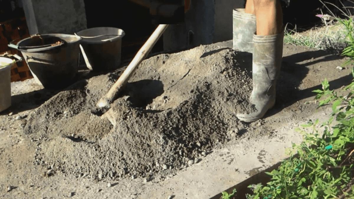 Cara Membuat Adukan Semen Manual Yang Baik Dan Kuat Tukang Kuli