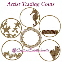 Creative Embellishments Artist Trading Coins ATC's