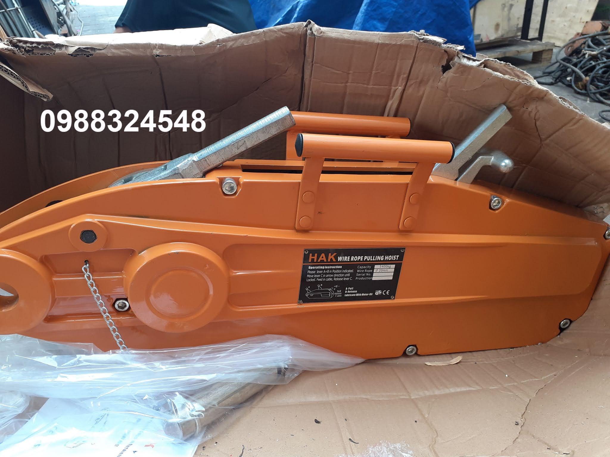Tirfor căng cáp HAK 5400kg