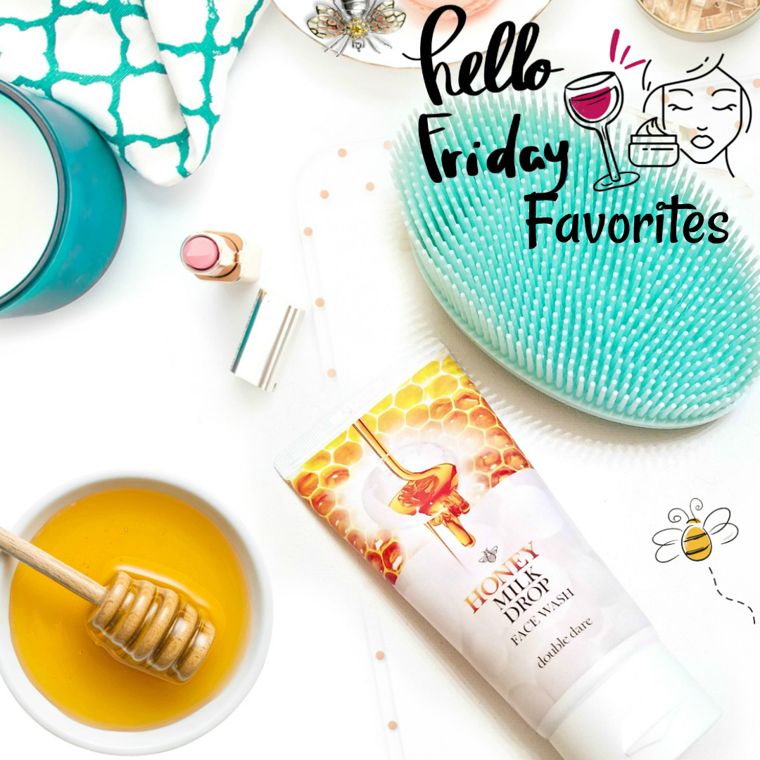 Friday Favorites With Double Dare Honey Infused Cleanser And IMBuddy Applicator With Barbies Beauty Bits