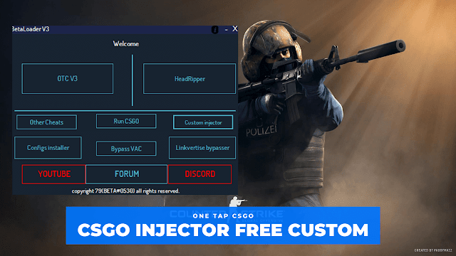 BetaLoader - CSGO Free Hack, Injector, Vac bypass, Trusted Mode [All In One]