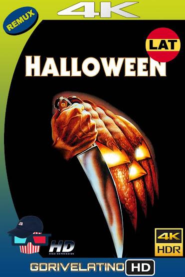 Halloween (1978) BDRemux 4K HDR Latino-Ingles MKV