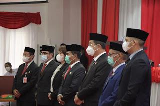 Serah Terima Jabatan dengan Gubernur dan Wakil Gubernur Kaltara