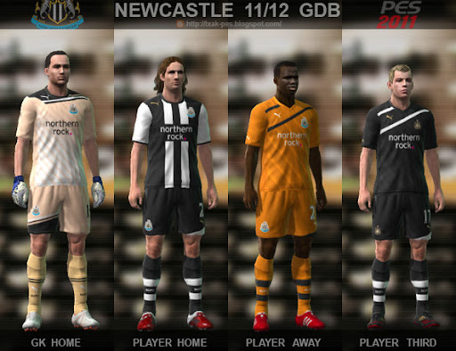 Newcastle 11-12 Kit Set by Txak