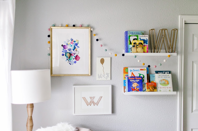 Gallery Wall - Nursery - Jesse Coulter Blog