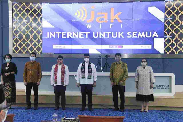 Anies Luncurkan JakWIFI, PKS: Semoga Jakarta Sejajar Dengan Kota Besar Di Dunia