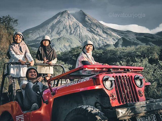 Merapi Lava Tour - foto instagram lavatourjogja