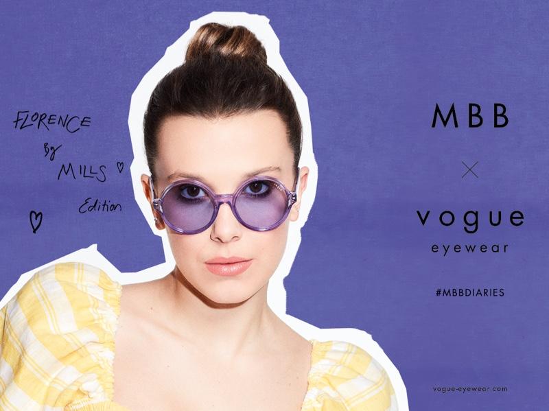 MBB x Vogue Eyewear Florence by Mills edition.