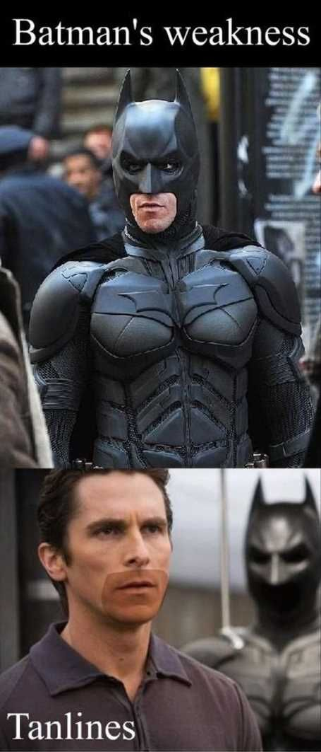 Funny Batman's Weakness Picture