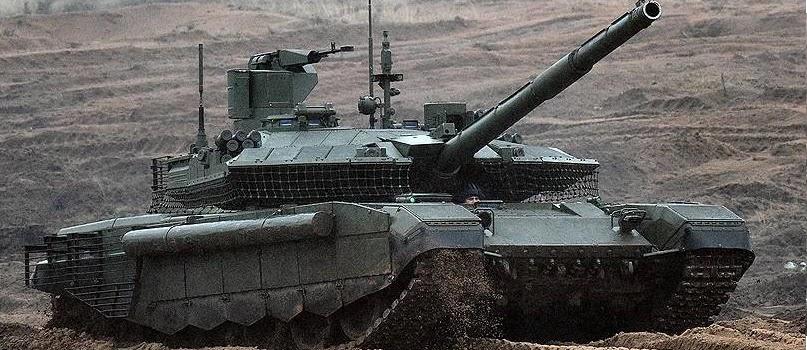 Російська армія отримала партію танків Т-90М