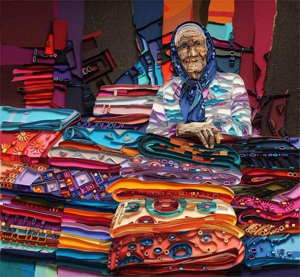 quilled textile market