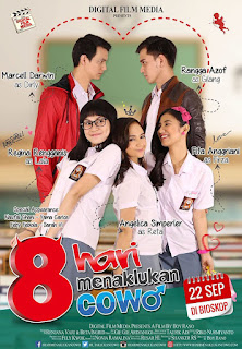 Download 8 Hari Menaklukan Cowo (2016) BluRay Full Movie Subtitle