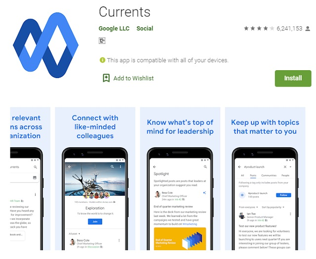 Google launches new Google Currents social media app