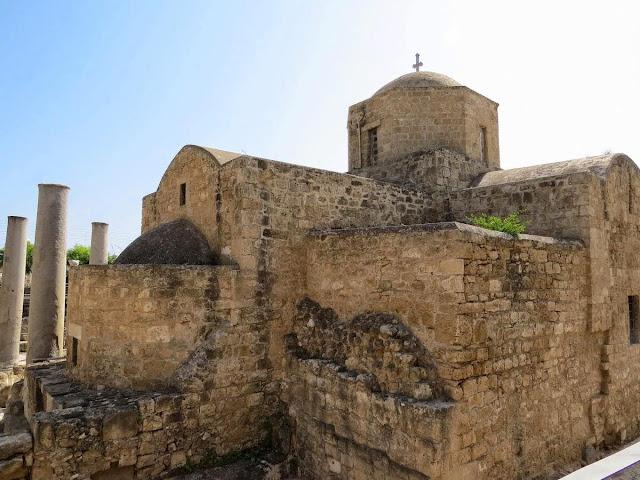 7 day Cyprus Road Trip itinerary: Ayia Kyriaki Chrysopolitissa church