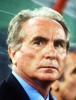 Azeglio Vicini was Italy's coach at the 1990 World Cup finals