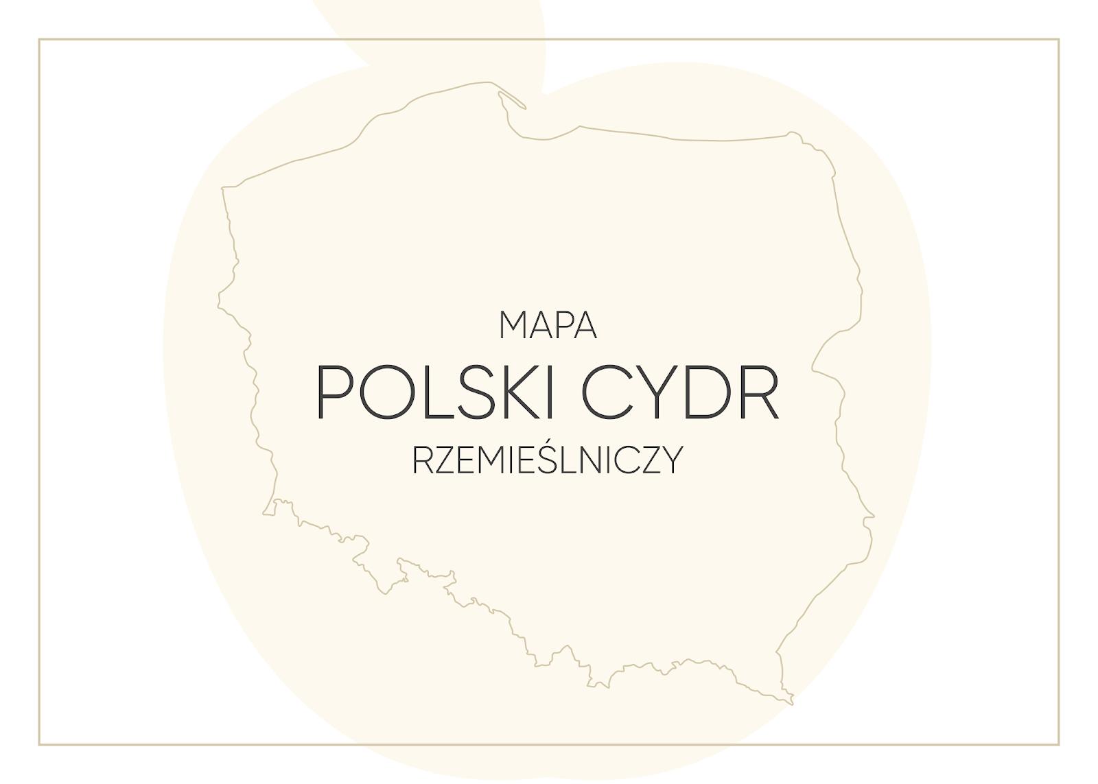 Mapa - Polski Cydr rzemieślniczy