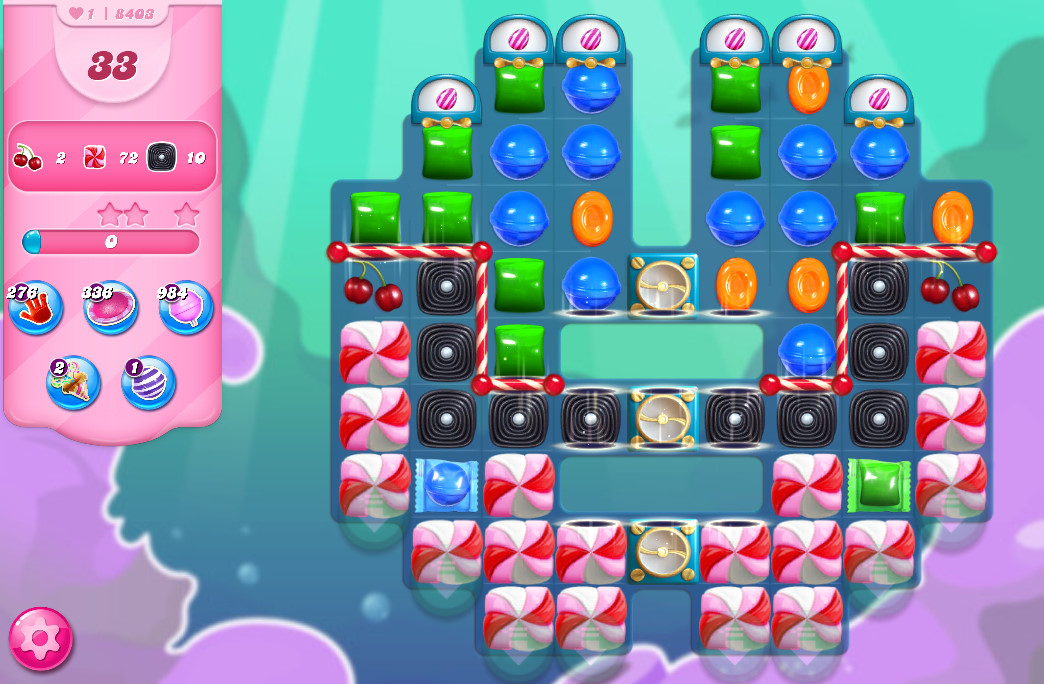 Candy Crush Saga level 8403