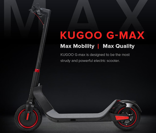 Kugoo G-Max - Tanto poder num trotinete eléctrica