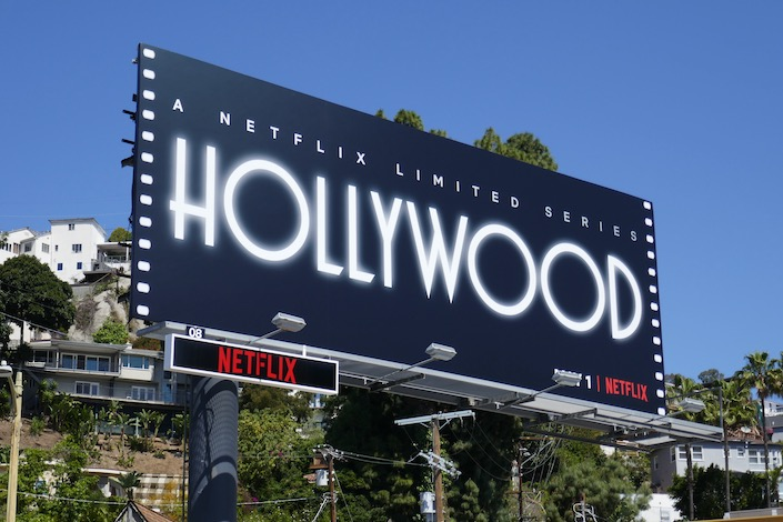 Hollywood series launch billboard