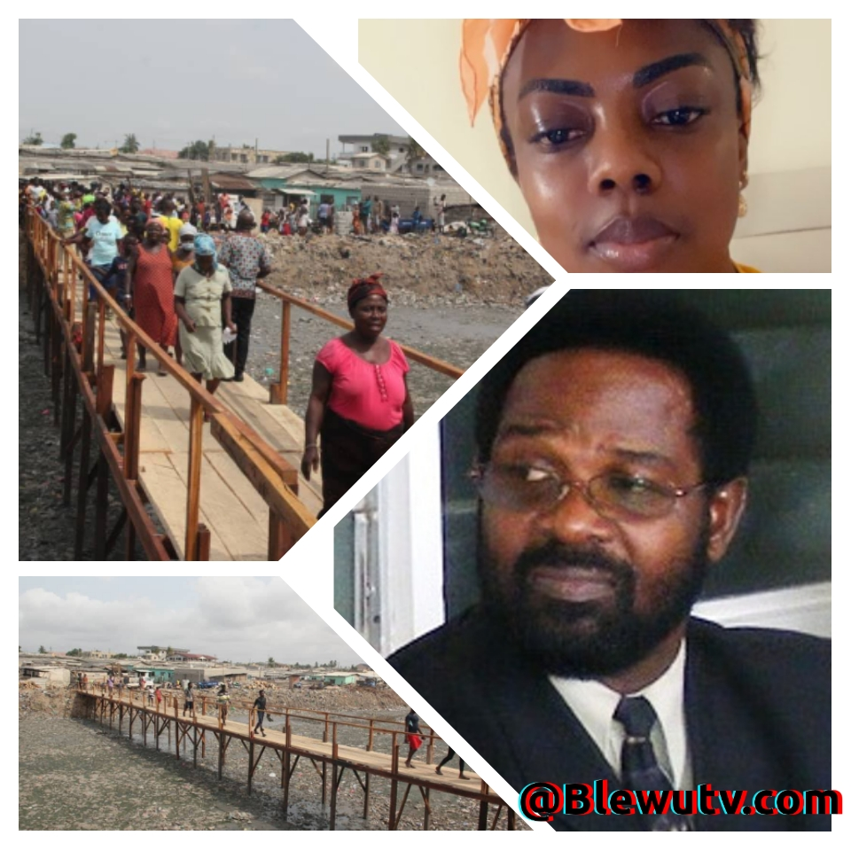 That's a Death Trap. Look at The Filth -Nana Aba Blasts Oko Vandeepuije For Constructing a 50cedis Bridge.