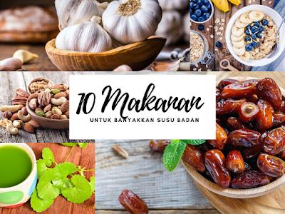 10 Makanan Untuk Banyakkan Susu Badan