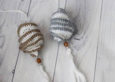 Spinner de viento o girador inquieto tejido a crochet