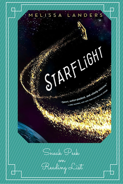Starflight a Sneak Peek on Reading List