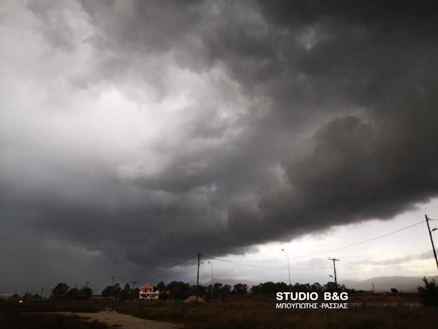 Έκτακτο δελτίο επιδείνωσης του καιρού μέχρι και την Πέμπτη με βροχές, χαλαζοπτώσεις και ισχυρούς ανέμους