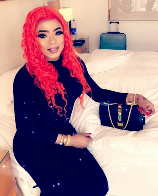 You'll be shocked to see me sitting pretty beside God in Heaven – Bobrisky addresses his haters