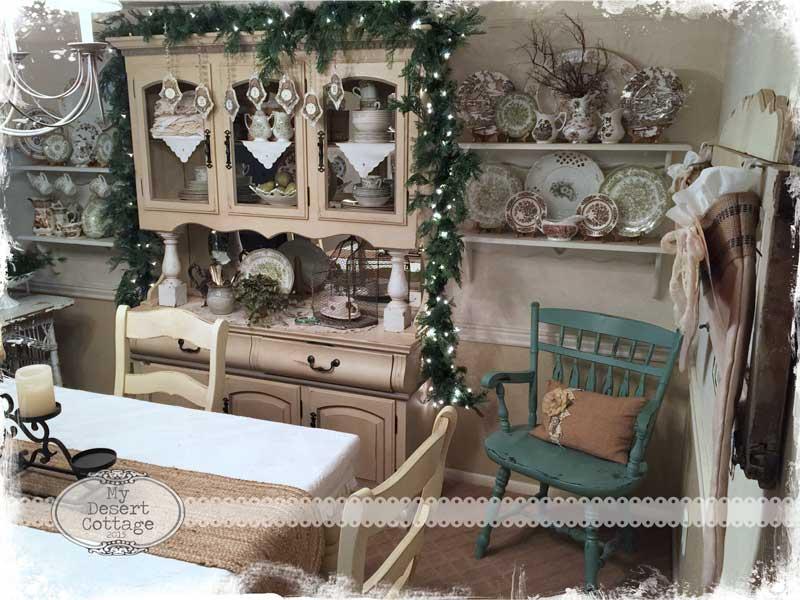 My Desert Cottage Christmas Decor In My Desert Cottage Pt 1