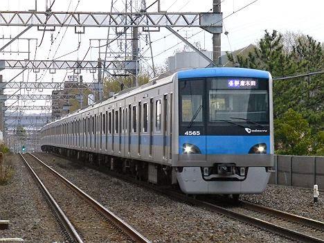 小田急電鉄 各停 唐木田行き 4000形