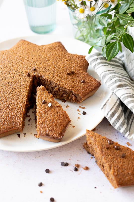 recette Gâteau farine châtaigne et chocolat