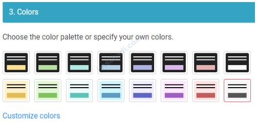 mengatur warna banner cookie consent