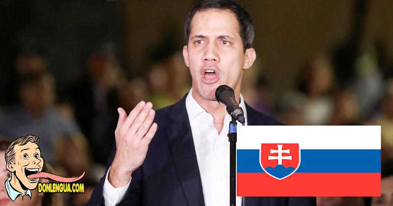 Día de Júbilo |  Eslovaquia reconoció formalmente a Juan Guaidó como Presidente de Venezuela