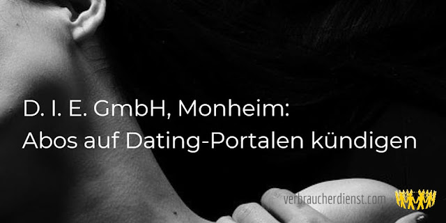 Bildtitel: D. I. E. GmbH, Monheim: Abos auf Dating-Portalen kündigen