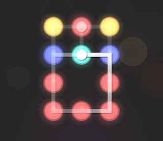 Solution, Cheats, Walkthrough for Neon Hack [Neon Dots] Level 41