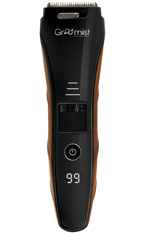 Groomiist Copper Series CS-24 Corded and Cordless Trimmer for Men - Best ergonomic and stylish beard trimmer under Rs 1500.