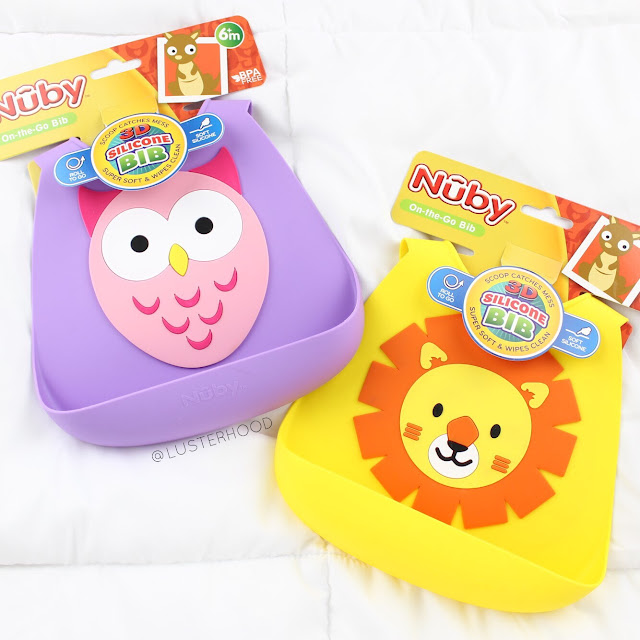 Nuby Silicone Bibs Animal  |  Lusterhood