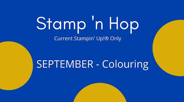 Stamp 'N Hop September Blog Hop: Colouring