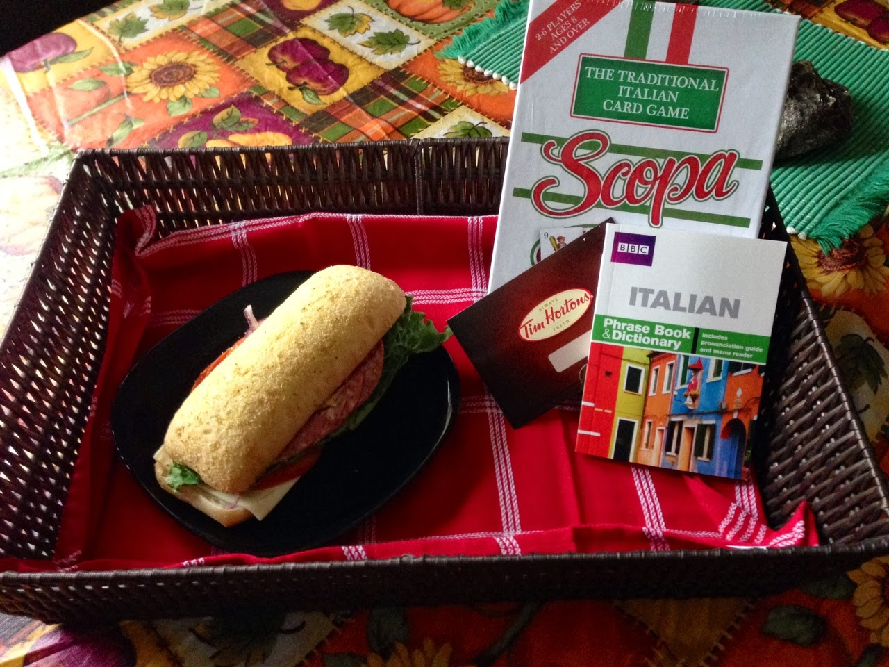 Tim Hortons Taste of Italy Special Delivery Experience + win