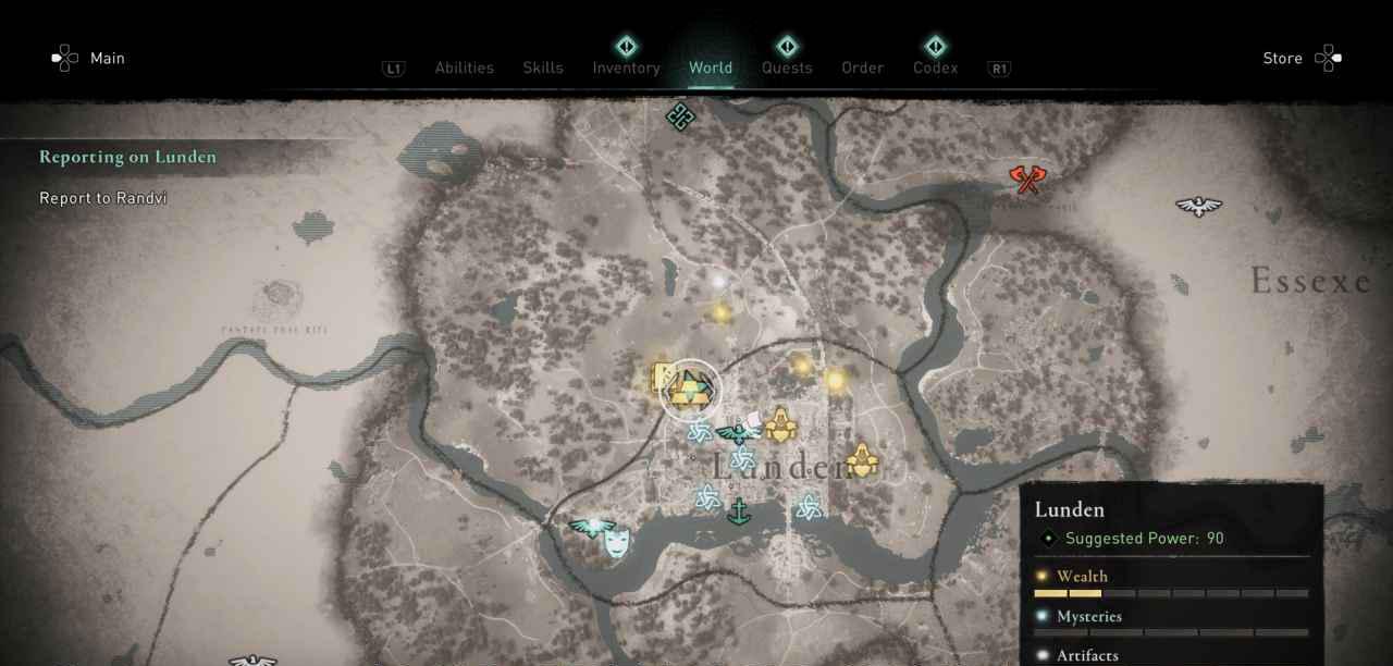 Ingot 40 Map