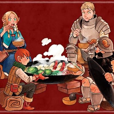 Manga Dungeon Meshi publicita su octavo tomo recopilatorio con un anuncio animado